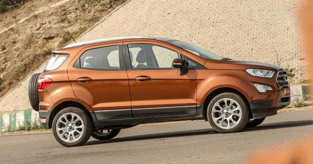 Ford EcoSport Side Profile2