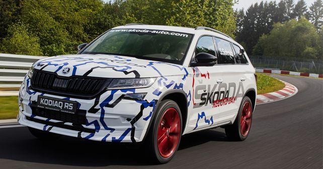 Kodiaq RS Nurburgring Motion