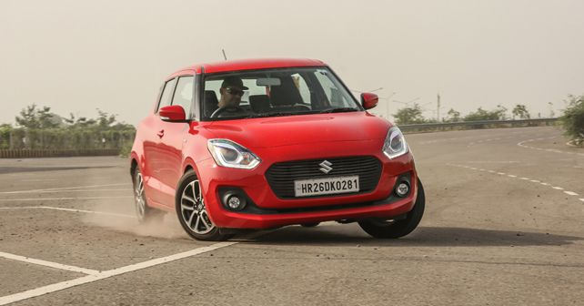 Maruti Suzuki Swift Front Three Quarter2
