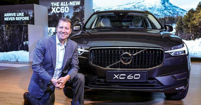 Mr Charles Frump Managing Director Volvo Car India 2