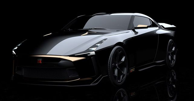 Nissan GT R GT R50 Italidesign Front