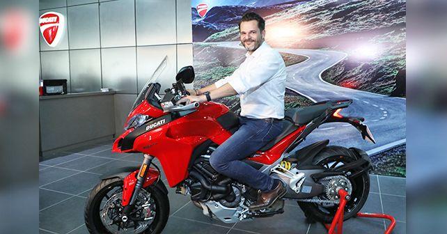 Sergi Canovas MD Ducati India