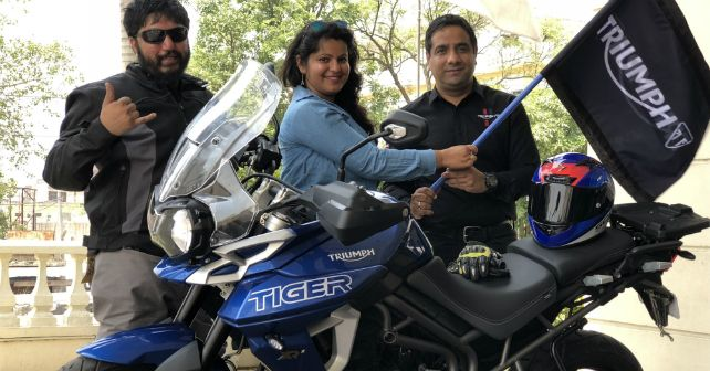 Triumph Motorcycles Ride For Safety India Jammu Kanyakumari M