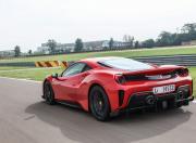 ferrari 488 pista rear dynamic marenello track