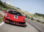 Ferrari 488 Pista Front Action