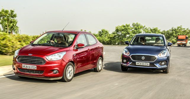 Maruti Dzire Vs Ford Aspire