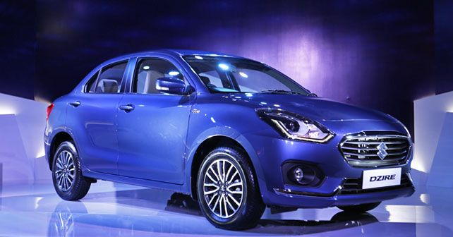 Maruti Suzuki Dzire Front Three Quarter Static