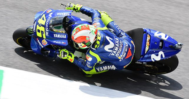 Motogp 2018 Rossi Pole. Valentino ...