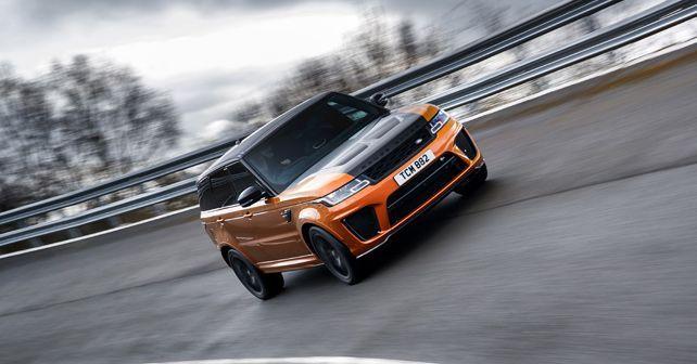 Range Rover Sport Svr Cornering4