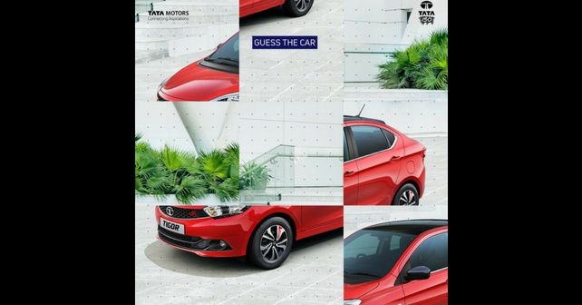 Tata Tigor Buzz Teased
