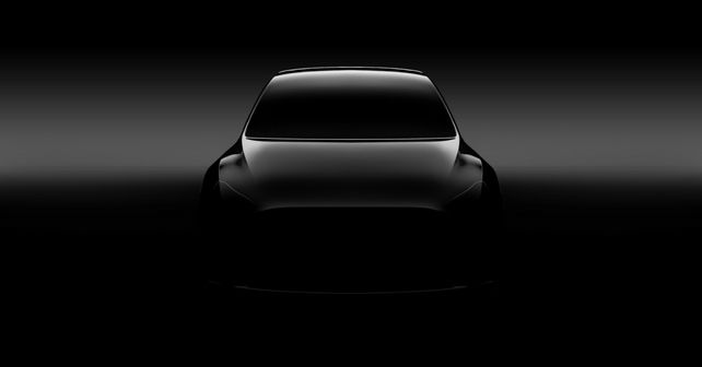 Tesla Model Y Teased