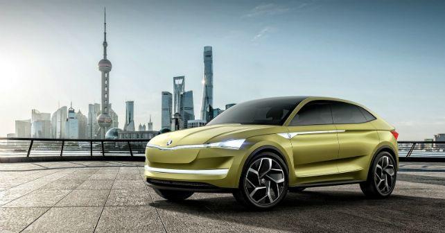2017 Skoda Vision E Concept ERS Electric SUV M