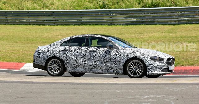2018 Mercedes Benz CLA Spy Shot 1