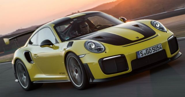 2018 Porsche 911 GT2 RS India Launch M