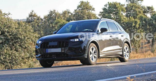 2019 Audi Q3 Front Spy Shot