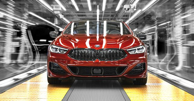 2019 BMW 8 Series Coupe Production Dingolfing 1