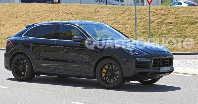 2019 Porsche Cayenne Coupe Spy Shot
