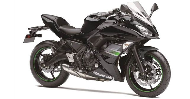 2019 Kawasaki Ninja 650 Metallic Black