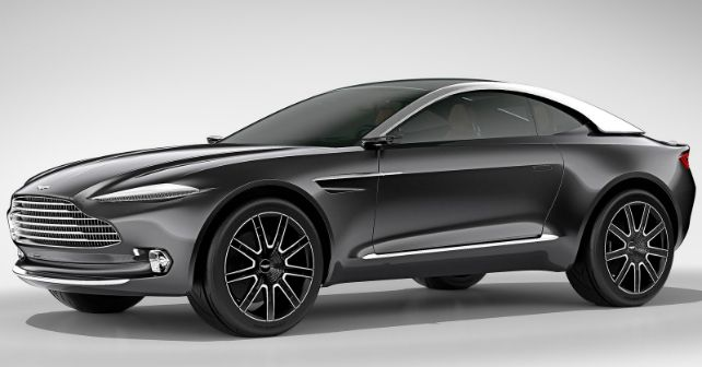 Aston Martin Upcoming SUV DBX Concept 2015 M