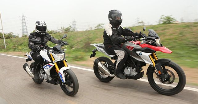 BMW G 310 R And 310 GS