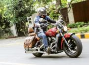 Indian Scout action