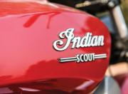 Indian Scout fuel tank