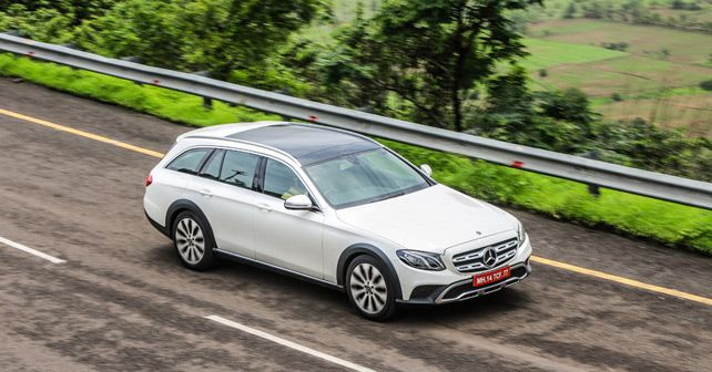 Mercedes Benz E Class All Terrain Action