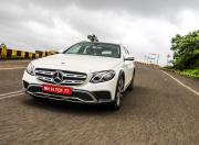 Mercedes Benz E Class All Terrain Front Motion1