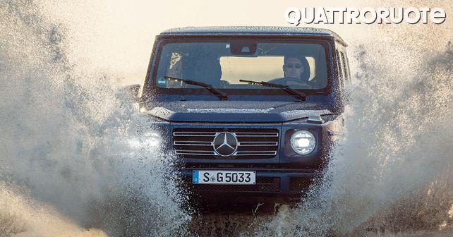 Mercedes Benz G Class G 500 Action12