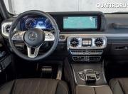 Mercedes Benz G Class G 500 interior