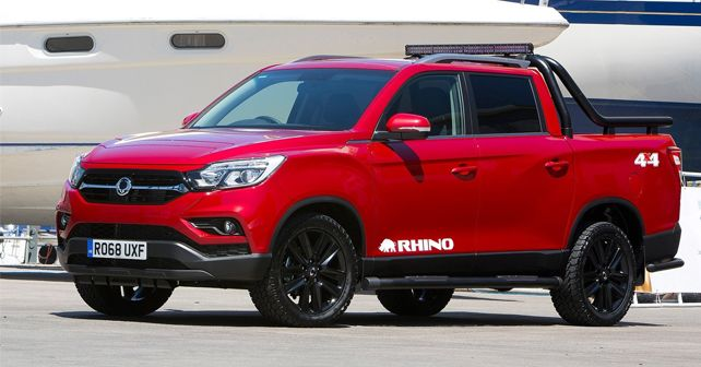 SsangYong Musso 2018 Front