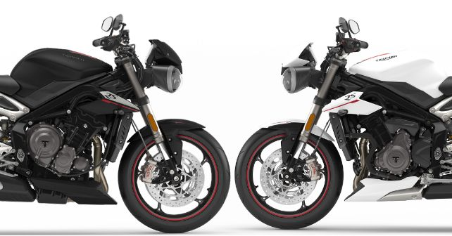 Triumph Street Triple Rs New Colours India Launch M