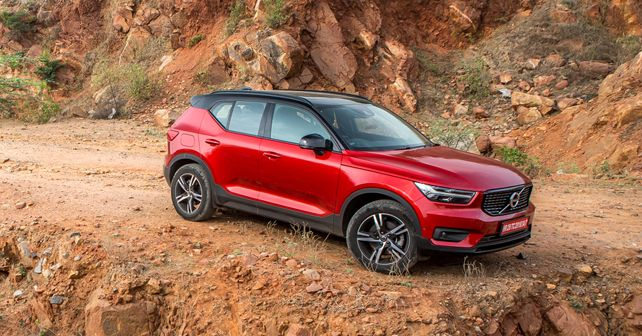 Volvo XC40 Front Three Quarter