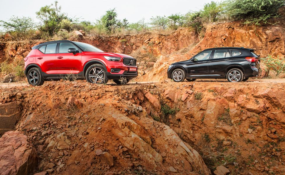 Volvo XC40 vs BMW X1