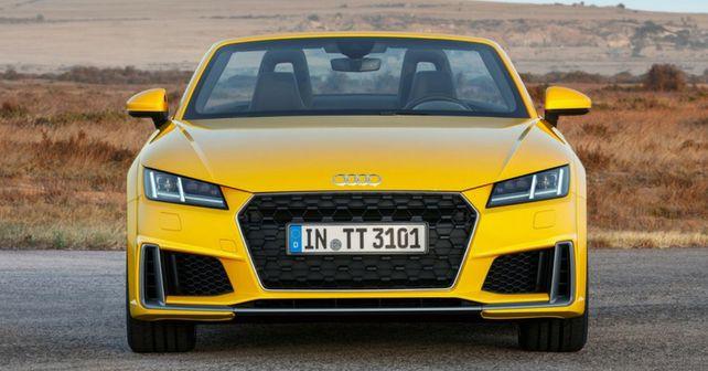 Audi Tt Facelift Front