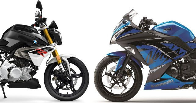 Bmw G 310 R Kawasaki Ninja300 Spec Comparison India M