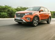 hyundai creta front three quarter dynamic