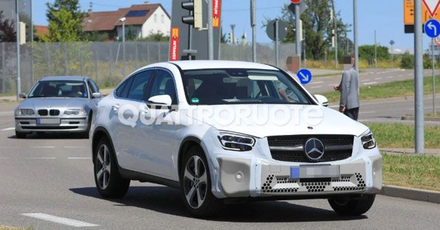 Mercedes Benz Glc Coupe Spy Shots