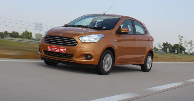 New Ford Figo Front Three Quarter