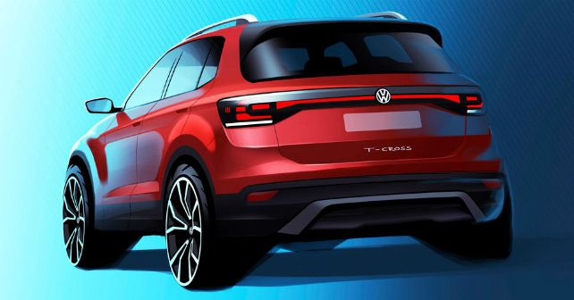 New Vw T Cross Sketch Promo Teaser M