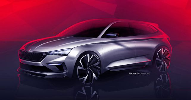 Skoda Vision RS Design Sketch