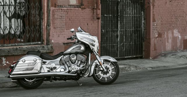 2018 Indian Chieftain Elite India Launch M