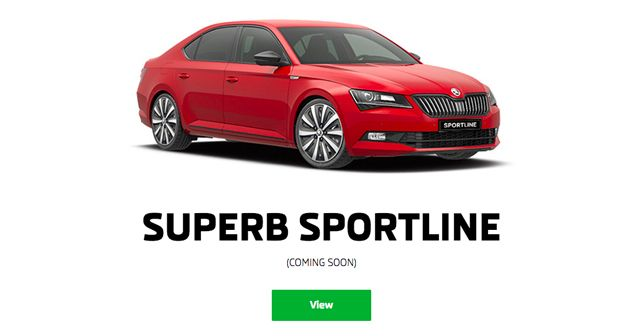 2018 Skoda Superb Sportline Coming Sonn To India