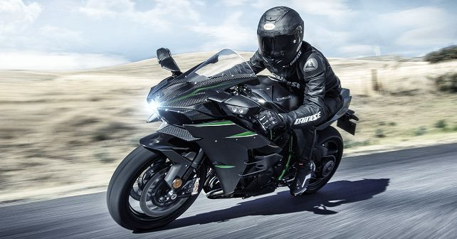 2019 Kawasaki Ninja H2 H2 Carbon And H2r Launched In India Autox