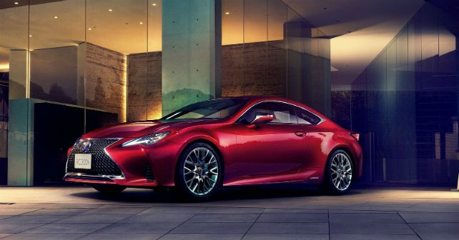 2019 Lexus RC Unveiled Images Pictures M