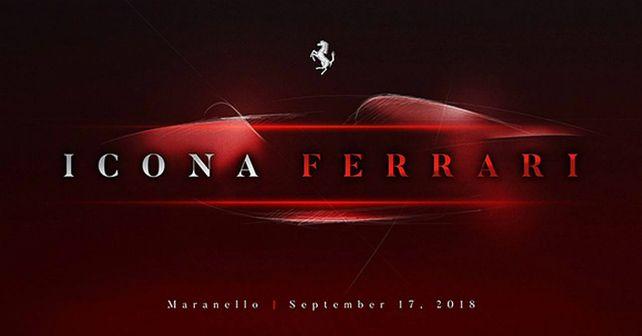 Ferrari Icona F176 Teaser Image M
