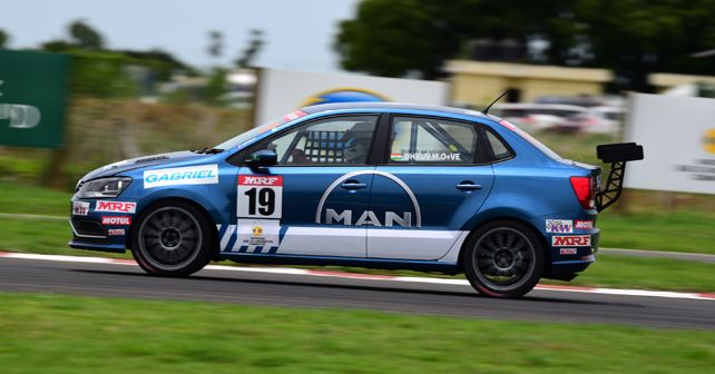 Dhruv Mohite 's #19 Ameo Cup racer