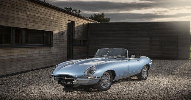 Jaguar E Type Zero Concept