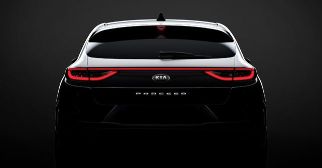 New Kia ProCeed teaser image
