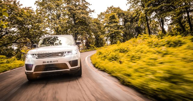 Range Rover Sport India Test Drive Action